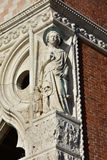 Archangel Raphael from Doge's Palace in Venice Stock Photo