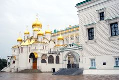 Archangel's cathedral. Moscow Cremlin Stock Photo