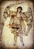 Archangel Uriel Stock Image