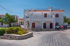 Archangelos, Greece  Church of Archangel Michael, Greece royalty free stock photography