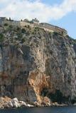 archangeloscloister greece Arkivbilder