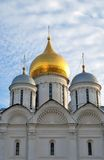 Archangels cathedral of Moscow Kremlin. Color photo. Stock Photography