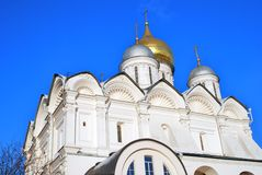 Archangels cathedral of Moscow Kremlin. Color photo. Stock Image