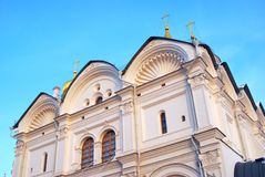 Archangels cathedral of Moscow Kremlin. Color photo. Stock Photo