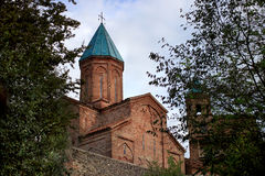 The Archangels' Church complex in Gremi, Kakheti, Georgia Royalty Free Stock Photo