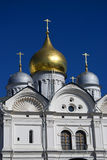 Archangels church. Moscow Kremlin. Blue sky background. Stock Photography