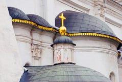 Archangels church. Moscow Kremlin. UNESCO Heritage. Stock Photo