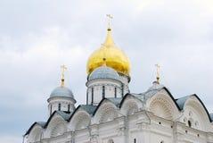Archangels church. Moscow Kremlin. UNESCO Heritage. Stock Photography