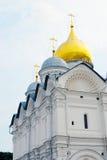 Archangels church. Moscow Kremlin. UNESCO World Heritage Site. Stock Photo