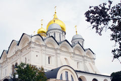 Archangels church in Moscow Kremlin. UNESCO World Heritage Site. Royalty Free Stock Photography