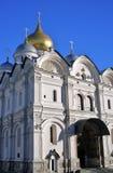 Archangels church. Moscow Kremlin. UNESCO World Heritage Site. Stock Photos