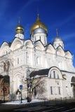 Archangels church in Moscow Kremlin. UNESCO World Heritage Site. Stock Image