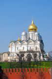 Archangels church in Moscow Kremlin. UNESCO World Heritage Site. Royalty Free Stock Image