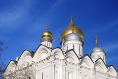Archangels church in Moscow Kremlin. UNESCO World Heritage Site. Royalty Free Stock Images