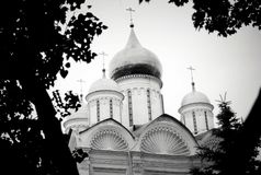Archangels church. Moscow Kremlin. UNESCO World Heritage Site. Royalty Free Stock Image