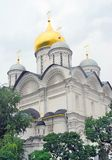 Archangels church in Moscow Kremlin. UNESCO World Heritage Site. Stock Photos