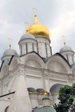 Archangels church in Moscow Kremlin. UNESCO World Heritage Site. Stock Images