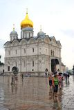 Archangels church in Moscow Kremlin. UNESCO World Heritage Site. Stock Photos