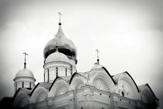 Archangels church. Moscow Kremlin. Royalty Free Stock Photo