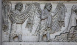 Archangels Raphael and Gabriel Stock Images