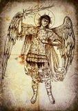 archanioła uriel royalty ilustracja