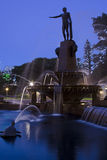 Archbald Fountain vert side Stock Photography