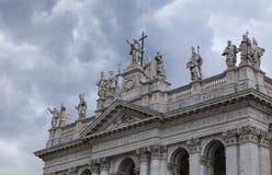 Archbasilica του ST John Lateran Στοκ Φωτογραφία