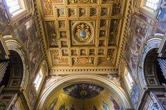 Archbasilica av helgonet John Lateran, Rome, Italien Royaltyfri Fotografi