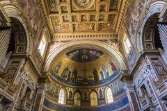 Archbasilica av helgonet John Lateran, Rome, Italien Royaltyfria Foton