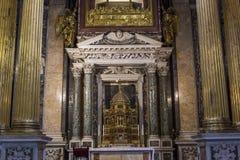 Archbasilica av helgonet John Lateran, Rome, Italien Arkivbild