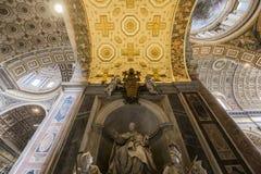 Archbasilica av helgonet John Lateran, Rome, Italien Fotografering för Bildbyråer