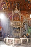 Archbasilica av St John Lateran royaltyfri foto