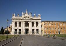Archbasilica av St John Lateran Arkivbilder