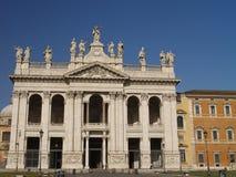 Archbasilica av St John Lateran Arkivfoton