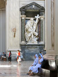 Archbasilica av St John Lateran i Rome, Italien Royaltyfria Bilder