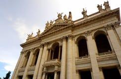 Archbasilica Church St. John Lateran Stock Photos