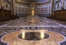 Archbasilica de Saint John Lateran, Roma, Itália Imagem de Stock