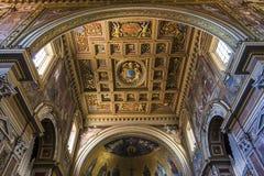Archbasilica de Saint John Lateran, Roma, Itália Foto de Stock