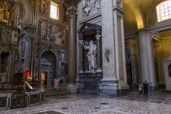 Archbasilica de Saint John Lateran, Roma, Itália Imagem de Stock Royalty Free
