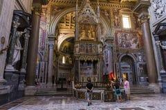 Archbasilica de saint John Lateran, Rome, Italie Photo libre de droits