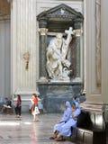 Archbasilica de St John Lateran en Roma, Italia Imágenes de archivo libres de regalías