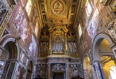 Archbasilica des Heiligen John Lateran, Rom, Italien Stockfotografie
