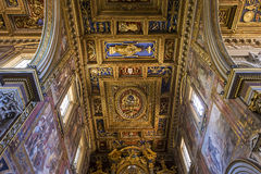 Archbasilica des Heiligen John Lateran, Rom, Italien Lizenzfreie Stockbilder