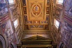 Archbasilica des Heiligen John Lateran, Rom, Italien Lizenzfreies Stockbild