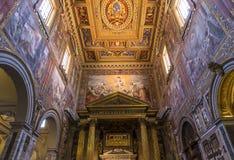 Archbasilica des Heiligen John Lateran, Rom, Italien Stockfotos