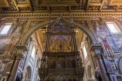 Archbasilica des Heiligen John Lateran, Rom, Italien Lizenzfreies Stockfoto