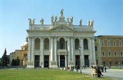 Archbasilica papal de St John dans le Lateran, Rome, Italie photo libre de droits