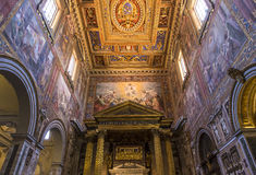 Archbasilica of Saint John Lateran, Rome, Italy Stock Photos