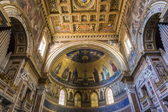 Archbasilica of Saint John Lateran, Rome, Italy Royalty Free Stock Photos