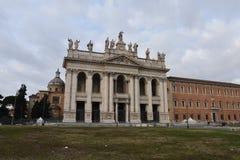 Archbasilica St John Lateran, Рима стоковые изображения rf